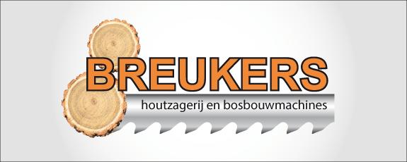 logo breukers houtzagerij en bosbouw machines
