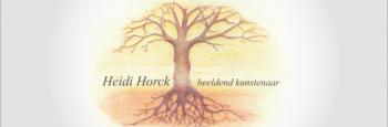 logo heidi horck beeldend kunstenaar